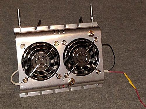Deluxe RV Refrigerator Evaporator Fan w/ LED & Grill | RV