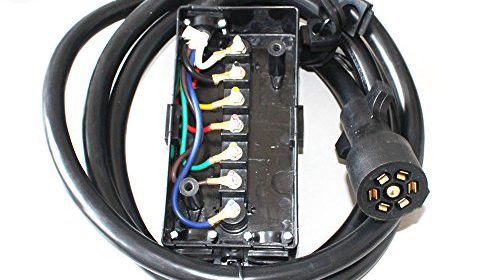 Swell X Haibei 8Ft Foot 7 Way Trailer Cord Wire Plug Connector Rv Cable W Wiring Cloud Hisonuggs Outletorg