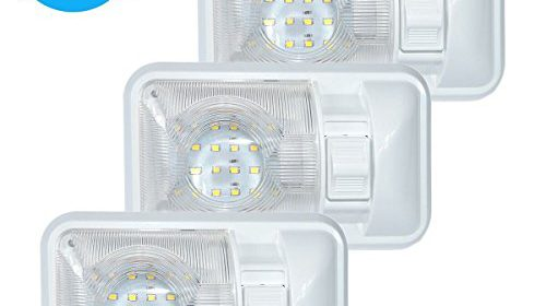 3 Pack 12v Led Rv Ceiling Dome Light Rv Interior Lighting For Trailer Camper With Switch Single